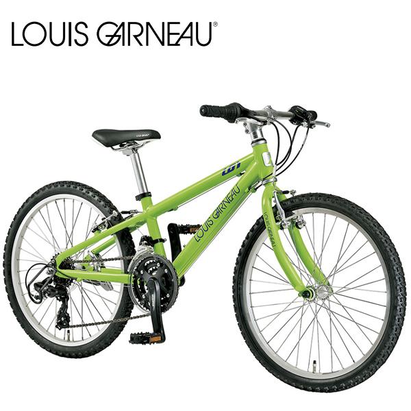 画像1: LOUIS GARNEAU ルイガノ J22 LG GREEN 22インチ  キッズ 子供 自転車 (1)