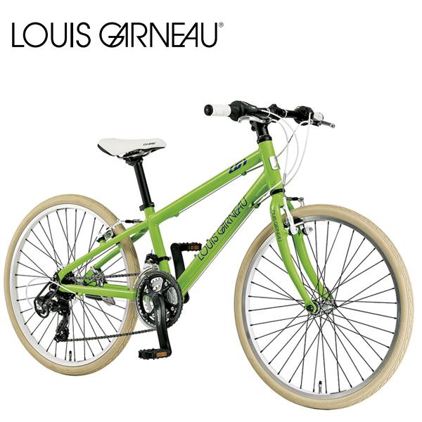 画像1: 【2021年3月入荷予定】 LOUIS GARNEAU ルイガノ J24 CROSS LG GREEN 24インチ  キッズ 子供 自転車 (1)