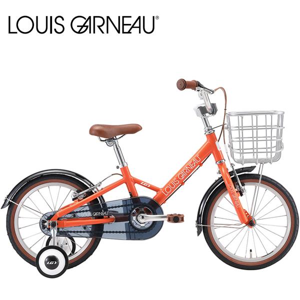 LOUIS GARNEAU ルイガノ K16 PLUS APRICOT 16インチ キッズ 子供自転車