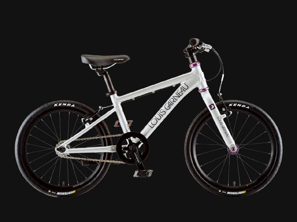 LOUIS GARNEAU ルイガノ K18 ADVANCED SPARKLE SILVER 18インチ キッズ 子供自転車
