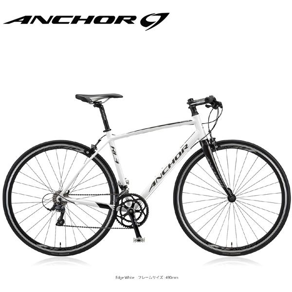 画像1: アンカー ロードバイク RL3 フラットバー EX ANCHOR RL3 FLAT EX エッジスタイル ホワイト (1)