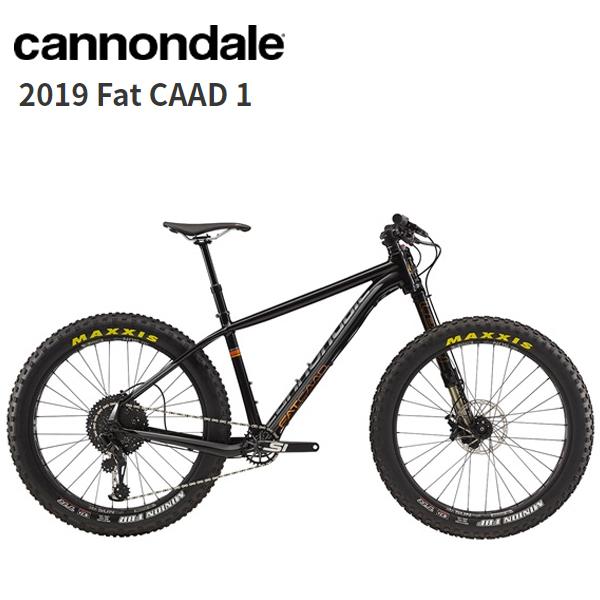 画像1: 2019 Cannondale キャノンデール Fat CAAD 1 Black Pearl  マウンテンバイク (1)
