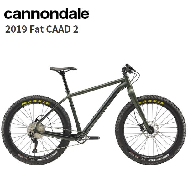 画像1: 2019 Cannondale キャノンデール Fat CAAD 2 Green Clay マウンテンバイク (1)