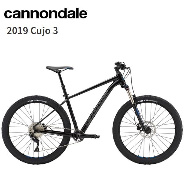 画像1: 2019 Cannondale キャノンデール Cujo 3  Black Pearl マウンテンバイク (1)