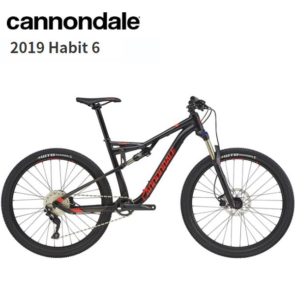 画像1: 2019 Cannondale キャノンデール Habit 6 Black マウンテンバイク (1)