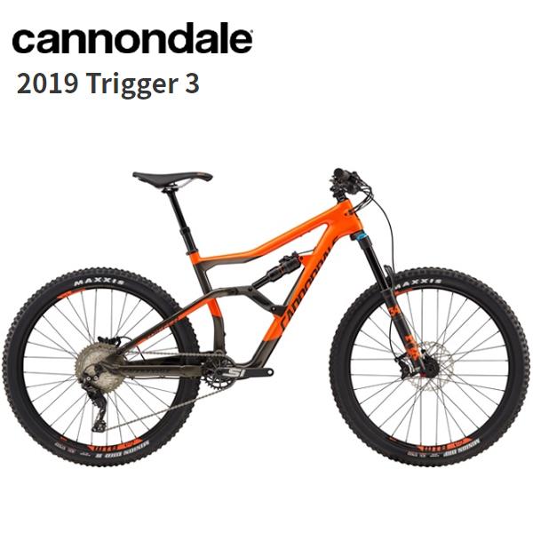 画像1: 2019 Cannondale キャノンデール Trigger 3 Orange マウンテンバイク (1)