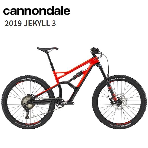 画像1: 2019 Cannondale キャノンデール JEKYLL 3 Acid Red マウンテンバイク (1)