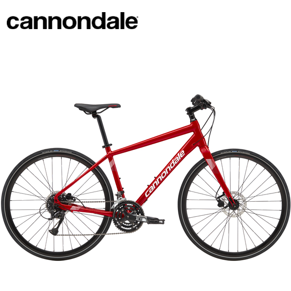 2019 Cannondale Quick Disc 4 「キャノンデール クイック4」 Red クロスバイク