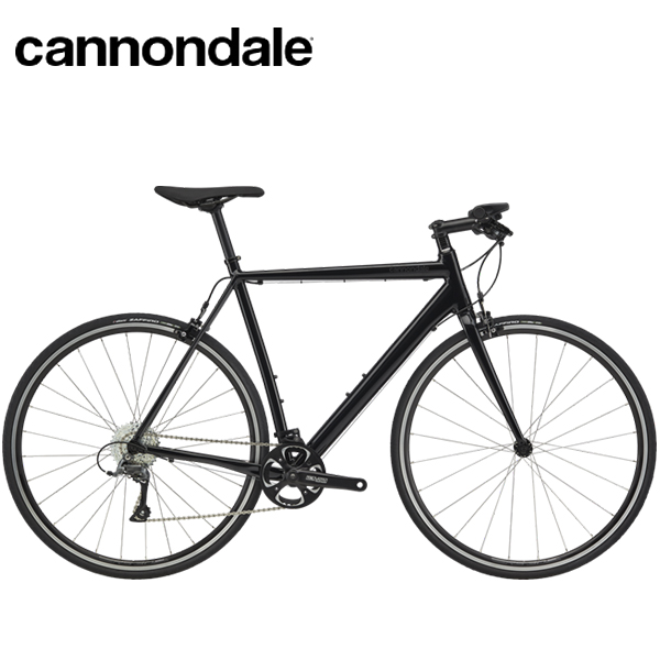 画像1: 2020 Cannondale CAAD Optimo Claris Flatbar Black クロスバイク (1)