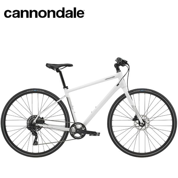 2020 Cannondale Quick Disc 4 「キャノンデール クイック ディスク4」WHT クロスバイク