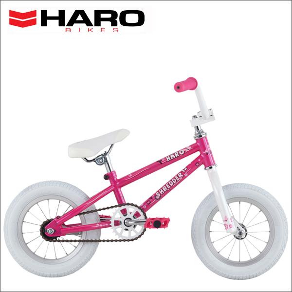 "2016 HARO BIKES SHREDDER 12"" GLOSS-PEARL-PINK 12インチ キッズ バイク 子供用 自転車"