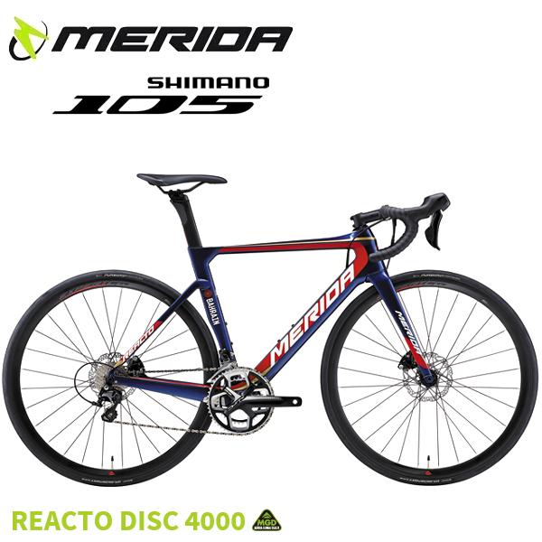 画像1: 2018 MERIDA メリダ REACTO DISC 4000 EBR2 (1)